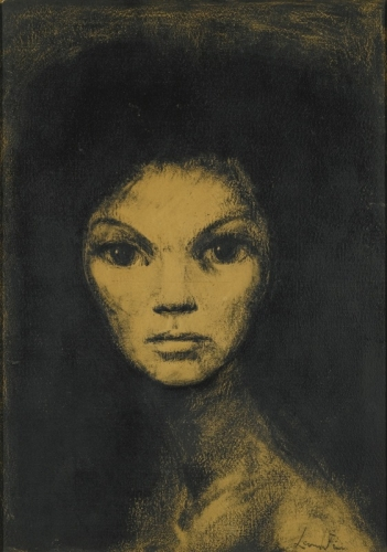 Leonor Fini  portrait imaginaire 1980.jpg