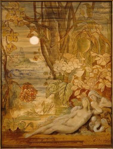 Gustave Moreau - le Sommeil 1866.JPG