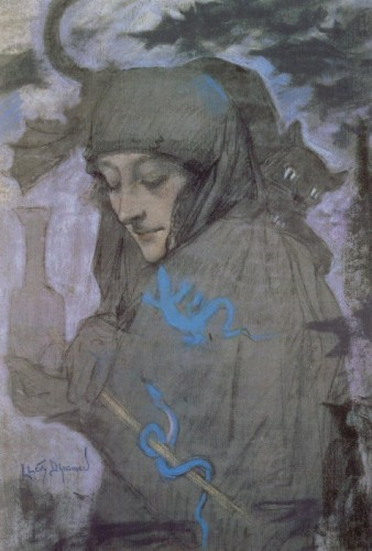 Lucien Lévy-Dhurmer 1865-1953 la sorcière.jpg