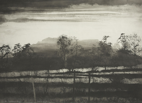 Norman Ackroyd South Cadbury Hill    1992.jpg
