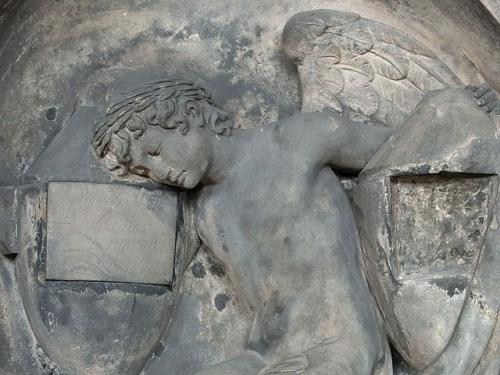 Vaclav Prachner  Angel from tombstone Prague 1809.jpg