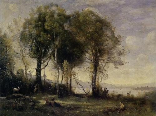 Camille COROT Les Chevriers de Castel Gandolfo.JPG