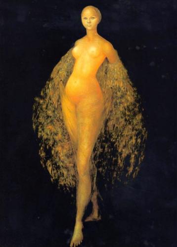 Leonor Fini. La Femme lune 1955.png