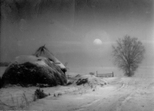 Nikolai Platonovich Andreev • Moonlight night 1924.jpg