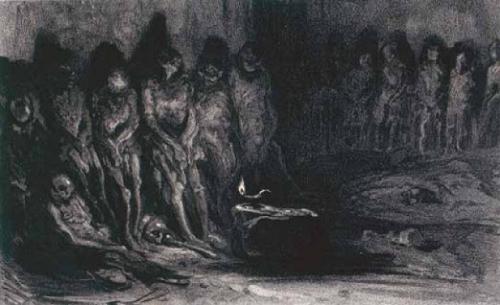 Alexandre-Gabriel Decamps Les Momies de St Michel XOIXe s.jpg