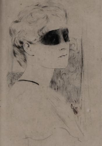 fernand khnopff le masque 1919.png