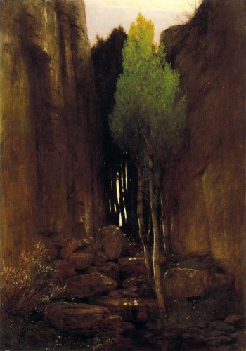 Arnold Böcklin Source between two rock walls 1881.jpg