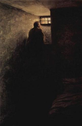 Nikolai Yaroshenko  The Prisoner - 1878.jpg