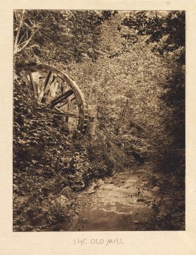 John Dumont the old mill fin 1880's.jpg