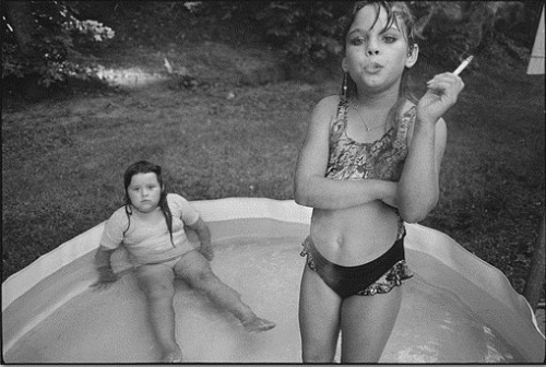 Mary ellen mark Amanda and her cousin Amy, Valdese, North Carolina, 1990 jpg.jpg