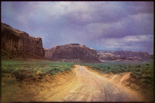Bernard Plossu Roads, Monument Valley 1982.jpg