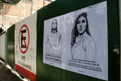 Tatyana Fazlalizadeh Stop teeling woman to sile Mexico City 0.JPG