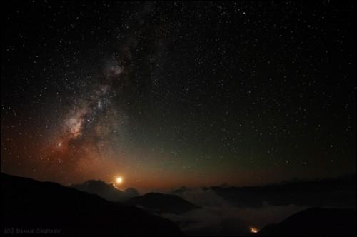 Dima Chatrov nuit dans les montagnes, népal.jpg