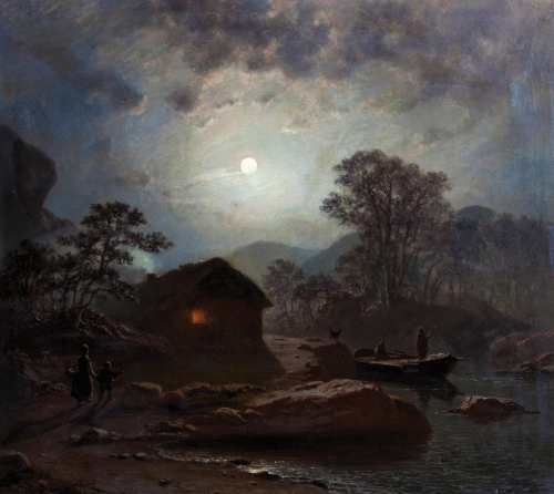 Arnold Böcklin  moonlight 1872.jpg