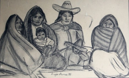 diego rivera mexicna family.jpg