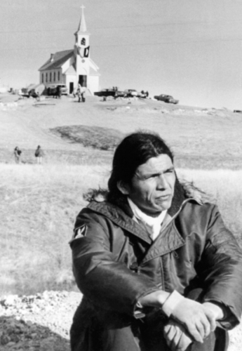 Dennis Banks, one of the AIM leaders of the Oglala Sioux Indians, .jpg