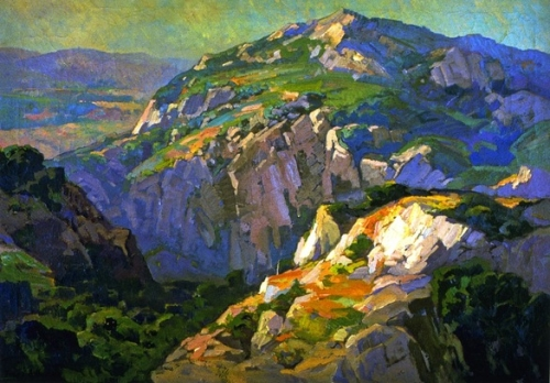 Franz Bischoff Canyon Green  undated.jpg