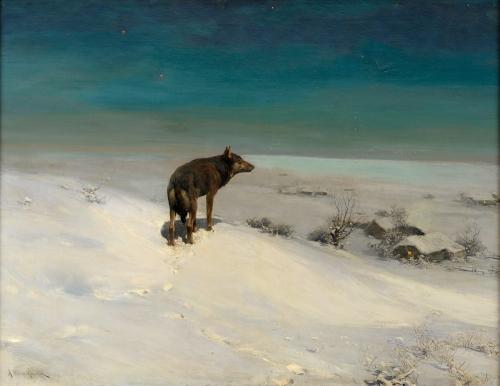 Alfred Wierusz-Kowalski _Der_Wolf.jpg