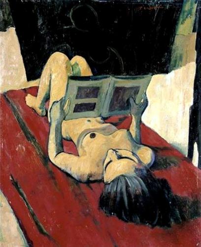 Felice Casaroti. Nudo distese che legge 1943_n.jpg