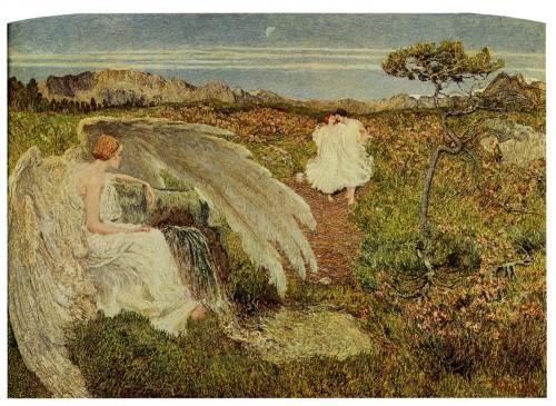 giovanni sagantini L'amore alla fonte della vita (1896).jpg