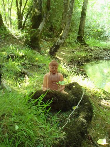 Bouddha en méditation au Lantouy (7).JPG