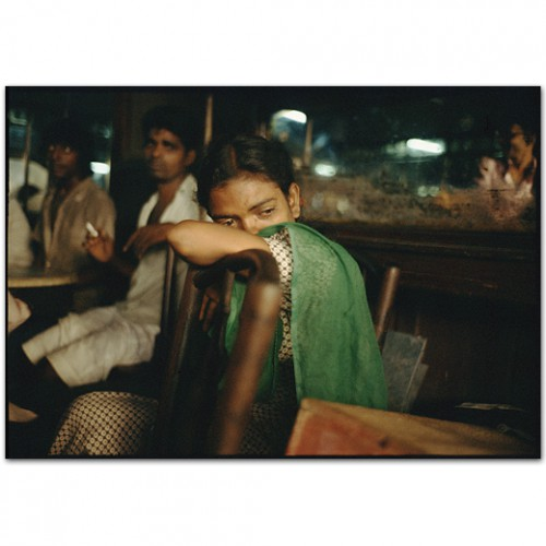 mary ellen mark Young street prostitue crying in the Olympia Cafe Falkland Road, Bombay, India. 1978.jpg