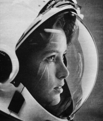Anna Fisher, an American astronaut and the first mother in space 1984.jpg