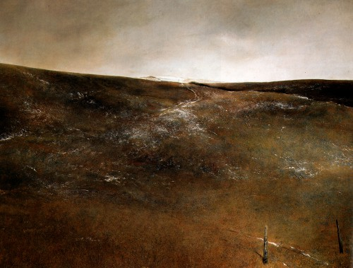 andrew wyeth Snow Flurries, 1953.jpg