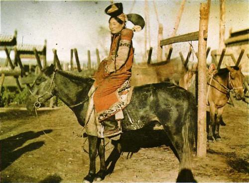 STEPHANE PASSET. Mongolian Horsewoman, c. 1913. .jpg