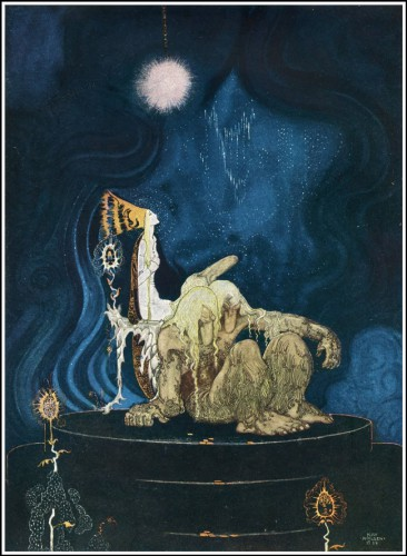 Kay Nielsen East of the Sun and West of the Moon 2, 1914 50watts.jpg
