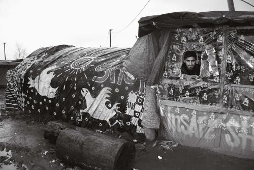 Christine Spengler la  jungle de Calais.jpg