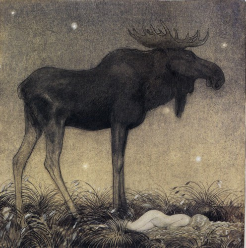 John Bauer - From 'Leap the Elk and the Little Princess Cottongrass' 1.jpg