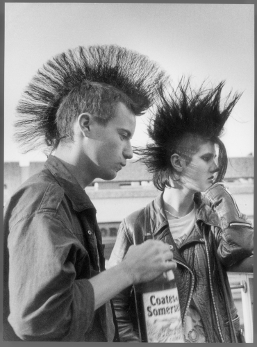 Shirley-Baker-Two-punks-drinking-cider-Stockport 1983-.jpg