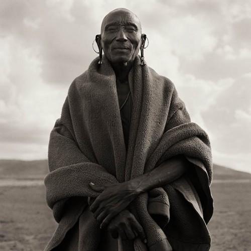 Dana Gluckstein Masai Chief Kenya 1985.jpg