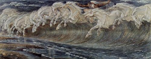 Walter Crane_les chevaux de Neptune 1892.jpg