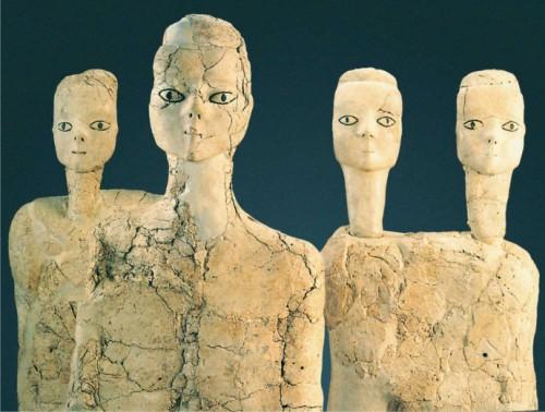 Ain Ghazal Neolithique  Jordanie, 7250 BC - 5000 BC..jpg