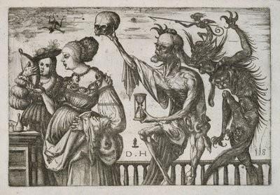 Death and the Devil Surprising Two Women, c. 1505, print by Daniel Hopfer.jpg