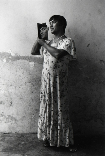 Graciela Iturbide, 'Magnolia en el espejo, Juchitán, Oaxaca', 1986.jpg