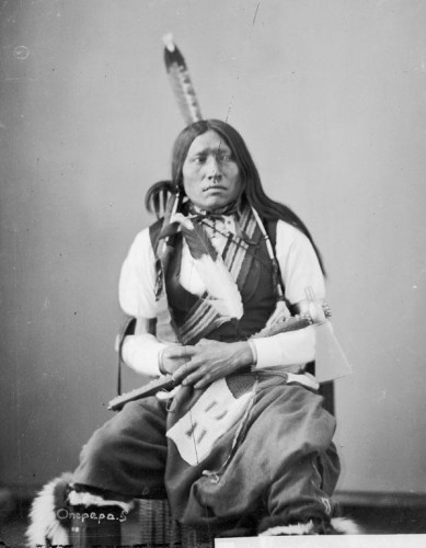 Alexander Gardner Thunder Hawk, Hunkpapa, 1872.jpg