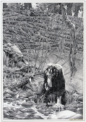 Bernie Wrightson Illustrations of Mary Shelley's Frankenstein 0.jpg