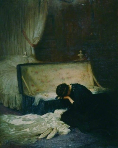 Frederick William Elwell La robe de mariée, 1911n.jpg
