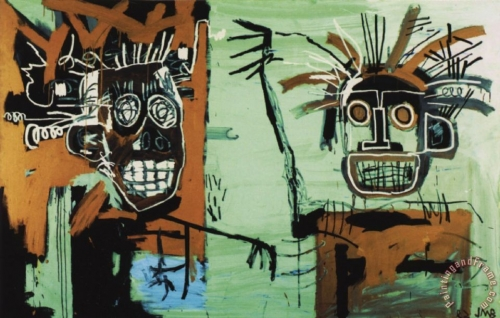 Jean-Michel Basquiat two_heads_on_gold.jpg