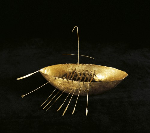 Broighter Gold Boat, Iron Age, 1st century BC, National Museum of Ireland.jpg