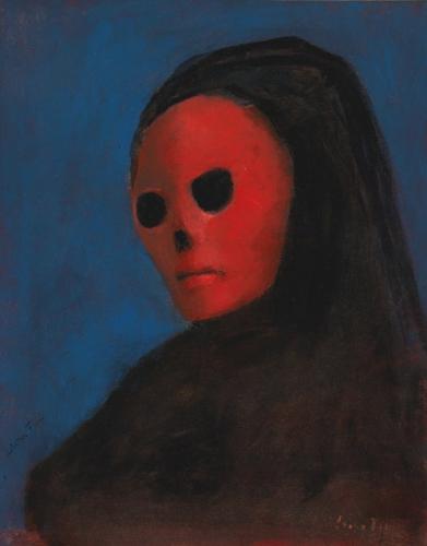 Leonor Fini Le Masque de la Mort Rouge 1987.jpg