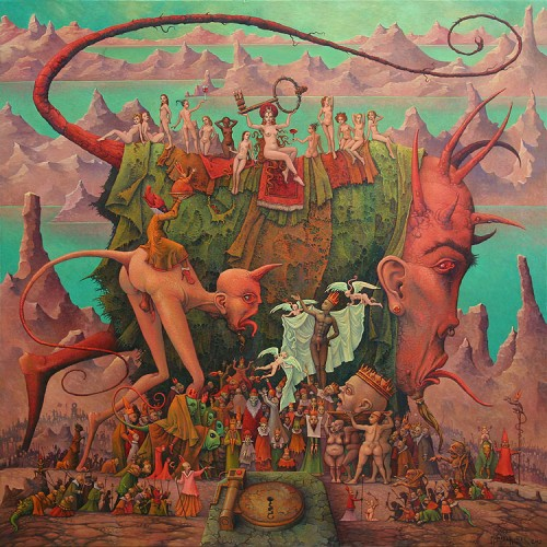 Michael Hutter Babylon handing the key to the abyss to the kings of the world.jpg