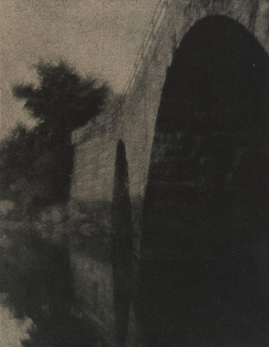 Alvin Langdon Coburn - The Bridge At Ipswich - 1904 photogravure.jpg