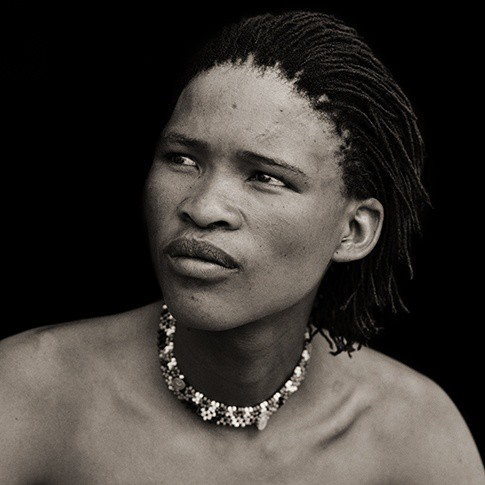 Dana Gluckstein San Boy with Corn Row Hair, Xai Xai, Botswana, 2009.jpg