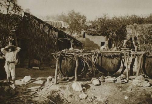 Hugo Brehme Mezcal spirits distillery, Mexico, 1925.jpg