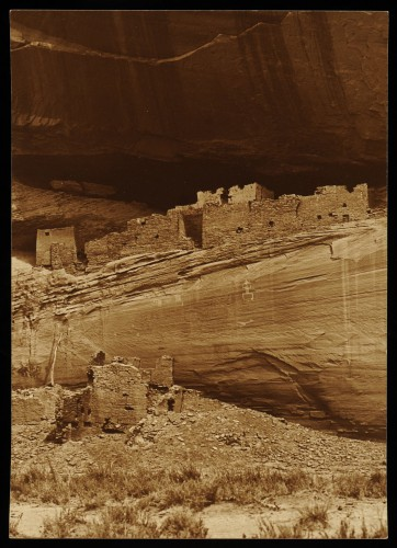 Roland W. Reed Anasazi Structure, Canyon De Chelly, Arizona 1913.jpg