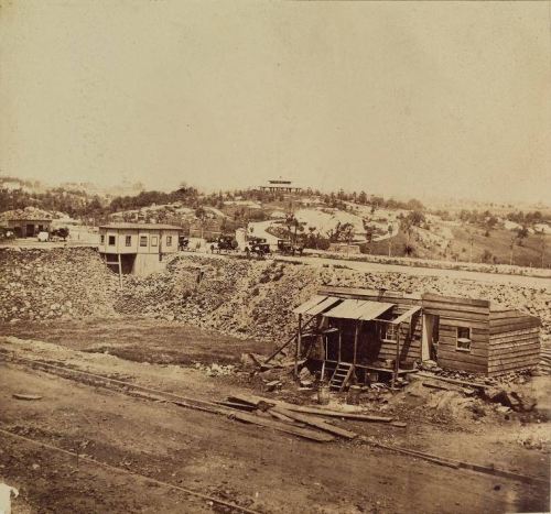 Central Park from Eighth Avenue. NY 1862..jpg